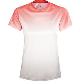 Regatta Fingal III T-paita Naiset, fiery coral ombre